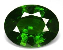 ~RAREST~ 15.40 Cts Natural Sparkling Green Zircon Oval Cut Srilanka