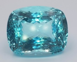 GRS Certified Flawless Clarity 110.60 ct Huge Size Paraiba Tourmaline