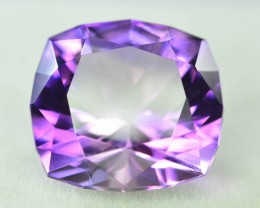 Top Color 12.65 ct AAA Cut Untreated Amethyst