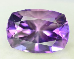 Top Color 19.40 ct AAA Cut Untreated Amethyst
