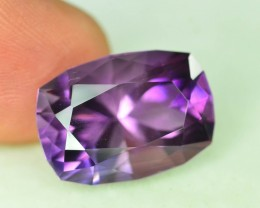 Top Color 14.50 ct AAA Cut Untreated Amethyst