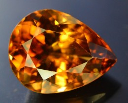 Top Quality 10.95 ct  Champagne Color Topaz Skardu Pakistan