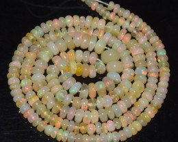 16 Inches Ethiopian Opal Beads Natural Welo Play Of Color OB224