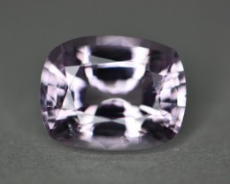 4.94 ct pale pink no heat certified natural spinel gem.