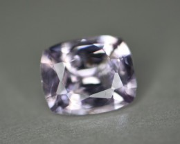 2.93 ct pale pink no heat certified natural spinel gem.