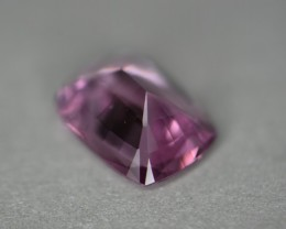 You can see the pretty pink tone of this gem.