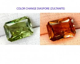 CRTIFIED 16.02CT DIASPORE ONE OF THE BEST GEMS COLOR CHANGE