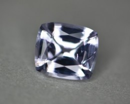 2.46 ct no heat certified colorless natural spinel gem.