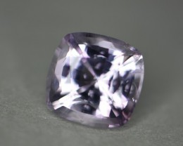 3.94 ct pale purple certified natural no heat treatment spinel.