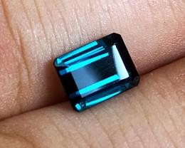 2.00 cts VVS Blue Indicolite Tourmaline - Minas Gerais, Brazil - Jewelry Gr
