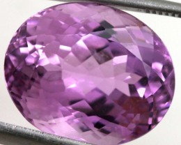 16.65-CTS- KUNZITE FACETED GEMSTONE  TBM-1481
