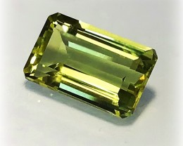 6.37ct Bright Lemon Quartz VVS Jewellery grade gem