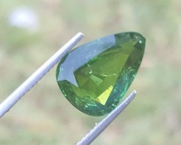 5.50 carats Green color Tourmaline Gemstone