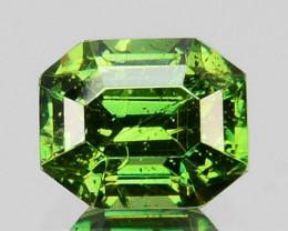~ULTRA RARE~ 0.44 Cts Natural Sparkling Green Sphalerite Octagon Cut Bulgar