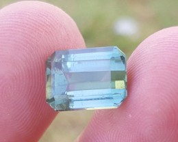 6 carats Blue color Tourmaline Gemstone