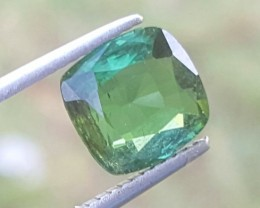 2.5 carats Green color Tourmaline Gemstone