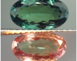 1.22 ct NATURAL ALEXANDRITE BLUISH GREEN CHANGING TO REDDISH PURPLE $10000
