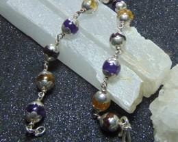 Mixed stones  beacelet cabs  mix colors   stones 77.45 cts