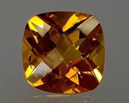 6Crt Madeira Citrine  Best Grade Gemstones JI28