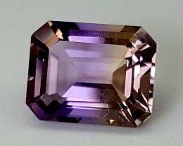 3Crt Bolivia Ametrine  Best Grade Gemstones JI28