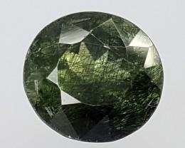 4.80Crt Rutile Peridot  Best Grade Gemstones JI28