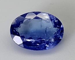 2.80Crt Natural Tanzanite  Best Grade Gemstones JI28