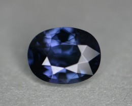 Beautiful royal sapphire like blue under incandescent.   Video is taken in natural shaded sunlight.