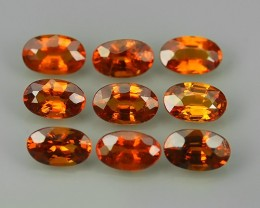 2.65 cts_Oval Cut_Marvelous_Electric Orange_Red_Sizzling_Spessarite_