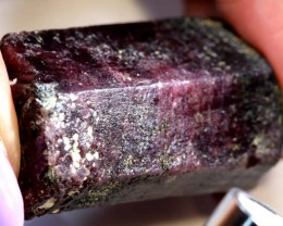 342.85 CTS- RED RUBY ROUGH SPECIMEN  TBM-DISPLAY
