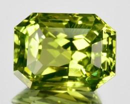 ~PRINCESS~ 4.57 Cts Natural Chrysoberyl Lemon Green Octagon Sri Lanka