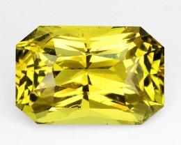 ~PRINCESS~ 4.48 Cts Natural Chrysoberyl Greenish Yellow Octagon Sri Lanka