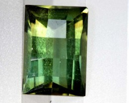 3.65- CTS  GREEN QUARTZ FACETED  CG-2521