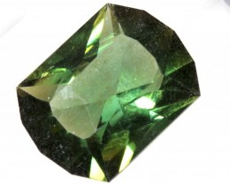 5.85- CTS  GREEN QUARTZ FACETED  CG-2523