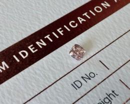 0.29ct PC1 Vs2 Certified Argyle Pink Diamond