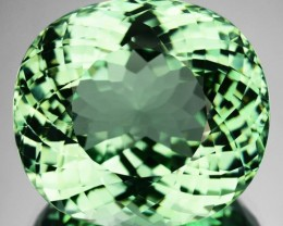 22.35 Cts Natural Top Mint Green Tourmaline Oval Cut Congo