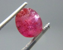 1.42cts Natural Ruby , Untreated Gemstone