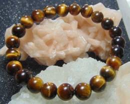 Beautiful ~ tiger eye beads ~ bracelet cabs 97.20cts