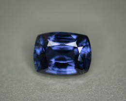 4.93 ct cobalt certified unheated natural color change spinel.