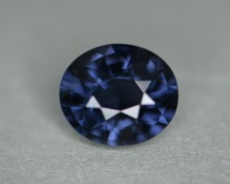 2.59 ct cobalt certified unheated natural color change spinel.