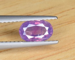 Natural Color Changing Sapphire 0.83 Cts from Kashmir Pakistan