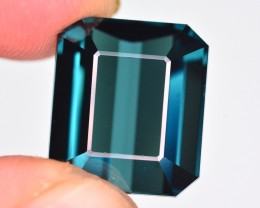 Marvelous Color 17 Ct Natural Indicolite Tourmaline ~ Afghanistan
