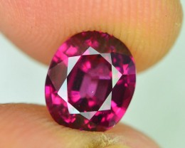 Rarest 2.70 ct Pyrope Almandine Grape Garnet one of a Kind Fire Mozambique