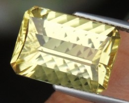 7.35cts Citrine,  Top Cut,  Calibrated