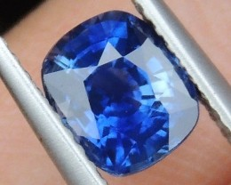 1.62cts,  Sapphire,  Pure Blue,  Heat Only,  Clean