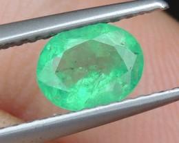 Emerald,    Bright Blueish Green,  Higher End