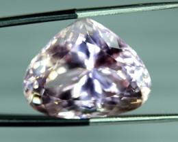NR ~ 29.35 ct Natural Peach Pink Kunzite Gemstone ~ Afghanistan