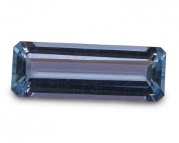 3.58 ct Baguette Aquamarine - $1 No Reserve Auction