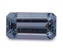 $1 No Reserve Auction -1.03 ct Baguette Aquamarine