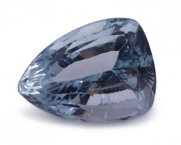 2.49 ct Shield / Trillion Aquamarine - $1 No Reserve Auction