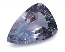 1.68 ct Shield / Trillion Aquamarine - $1 No Reserve Auction